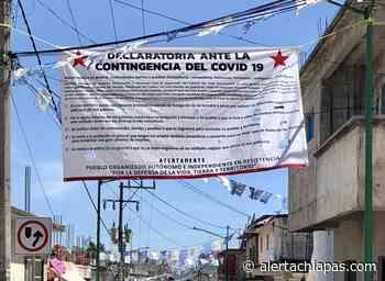Disturbios en San Andrés Larráinzar por versiones falsas sobre Covid - Alerta Chiapas