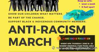Anti-racism march planned for Ladner civic precinct today - Delta-Optimist