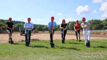 Kunstrasenspielfeld in Gaildorf: Arbeiten sind in vollem Gange - SWP