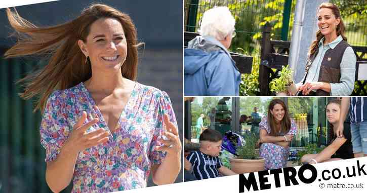 Prince George left feeling  'a little grumpy' after losing lockdown sunflower contest with Louis