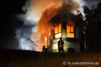 Brandstiftung Ursache des Stellwerk-Feuers - Volksstimme