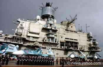 Russia's Aircraft Carrier Is a Smokey Mess: Here's Why