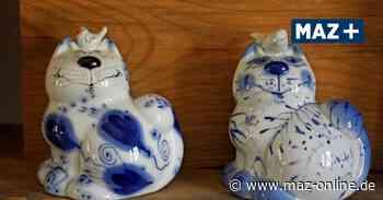 Ausstellung in Falkensee: Porzellan-Katzen tummeln sich überall - Märkische Allgemeine Zeitung