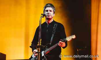 TALK OF THE TOWN: Noel's droll with it! Oasis star admits he would appear wooden on stage
