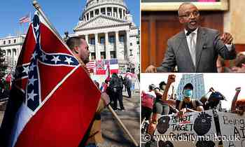 Mississippi lawmakers take first steps to remove the Confederate battle emblem from the state flag