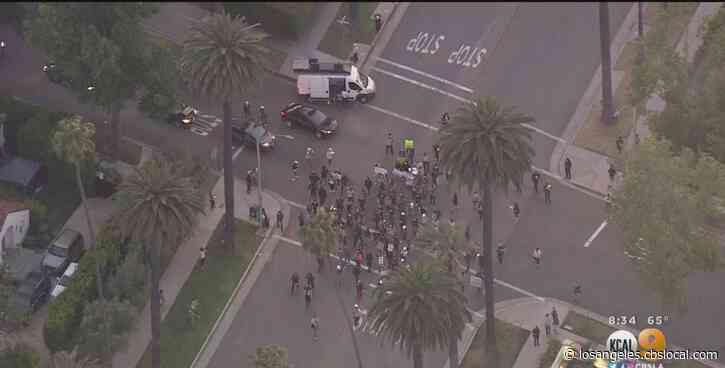 24 Arrested After Criminal Justice Reform Protest In Beverly Hills