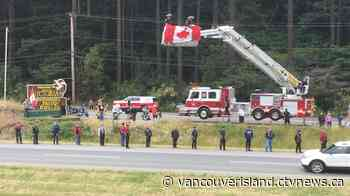 Remains of helicopter pilot return home to Vancouver Island