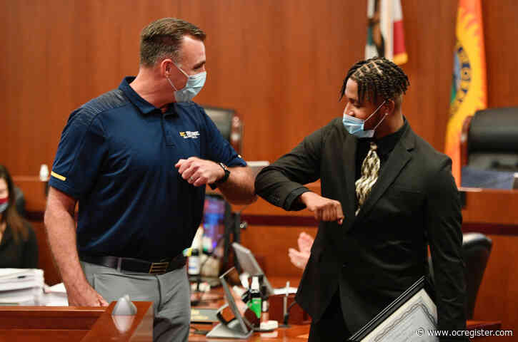 Orange County's 'Young Adult Court' celebrates its first graduate