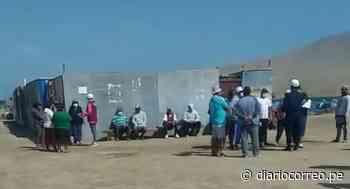 Pisco: Colocan tranqueras para evitar el ingreso de personas - Diario Correo