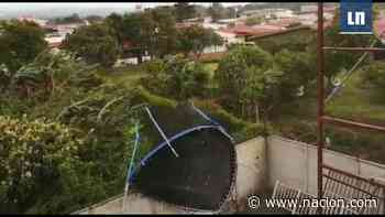 (Video) Vientos causan daños en varias casas en Santo Tomas de Santo Domingo de Heredia - La Nación Costa Rica