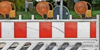 Vollsperrung der K 416 ab Ortsausgang Lindau - Göttinger Tageblatt