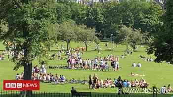 Ian Rankin: City park being 'treated like a night club'