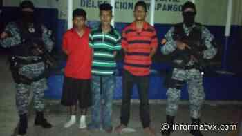 Elementos de la PNC realizaron capturas en Guaymango y Soyapango   Noticias El Salvador - InformaTVX - Noticias El Salvador