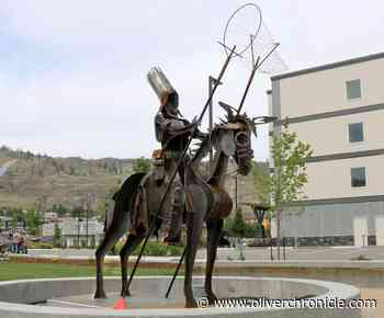New metal sculpture represents connection between town and Osoyoos Indian Band - Oliver Chronicle
