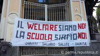 """""""Basta tagli, priorità alla scuola"""": la protesta arriva a Parma - La Repubblica"""