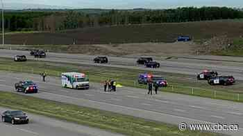 Motorcyclist killed in Stoney Trail crash