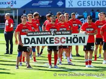 Fotos: So ausgelassen bejubeln die Freiburger ihre Tore gegen Schalke - SC Freiburg - Fotogalerien - Badische Zeitung
