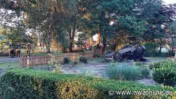 Polizei: Ohne Führerschein Pkw aufs Dach gelegt - Nordwest-Zeitung