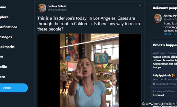 Shopper at new NoHo Trader Joe's refuses to wear mask, and confrontation goes viral