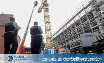 Erneute Kranbesetzung durch Bauarbeiter - Marl - Lokalkompass.de