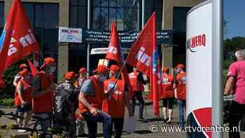 Taxichauffeurs voeren actie bij Taxiwerq in Hoogeveen - RTV Drenthe