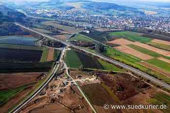 """Stockach/Ludwigshafen: Serie """"20 in 20"""": Luftbilder von der Entwicklung des interkommunalen Gewerbegebiets Blumhof - SÜDKURIER Online"""