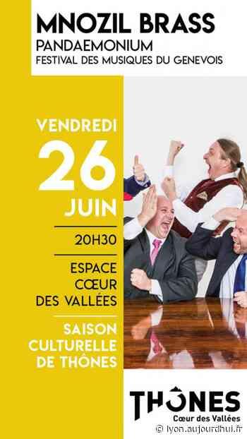 MNOZIL BRASS - PANDAEMONIUM - ESPACE COEUR DES VALLEES, Thones, 74230 - Sortir à Lyon - Le Parisien Etudiant