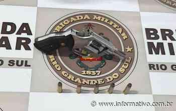 Registro de porte ilegal de arma em Taquari - Infomativo