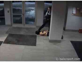 A British Columbia Police Officer Seen Dragging a Woman and Stepping On Her Head - balleralert.com