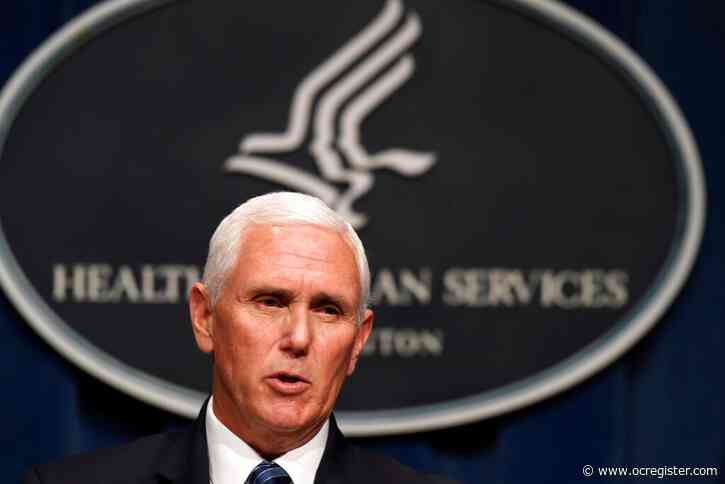 Pence cancels some political events due to coronavirus spikes
