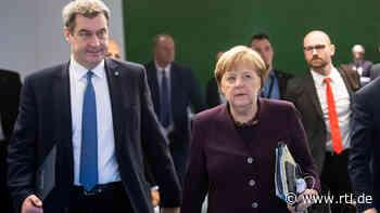 Angela Merkel und Markus Söder warnen vor früher zweiter Corona-Welle - RTL Online