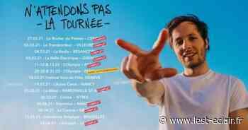 Concert : Vianney en novembre 2021 à Troyes - L'Est Eclair