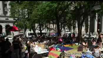 'Occupy City Hall' protests continue in New York City amid calls to defund police