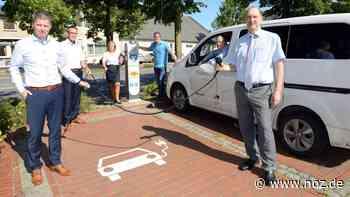 E-Autos können in Neuenkirchen nun auch in der Dorfmitte tanken - noz.de - Neue Osnabrücker Zeitung