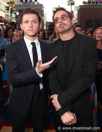 Tom Holland's Nickname for Robert Downey Jr. Is Perfect for 2 Reasons - Showbiz Cheat Sheet