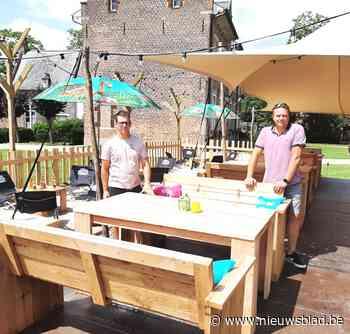 Bar Nature in pastorijtuin van Groot-Vorst is eerste zomerbar in Laakdal - Het Nieuwsblad