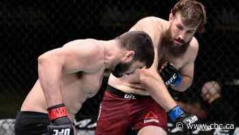 Alberta's 'The Bulldozer' Tanner Boser delivers impressive UFC KO