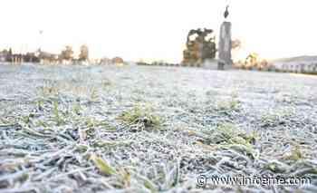 El frio se hizo sentir : Olavarria bajo 0 - Infoeme