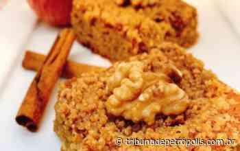 Aprenda a fazer bolo fit que leva chá de maçã com canela na massa - Tribuna de Petrópolis