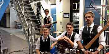 Semperfield aus Zossen spielen Konzert in der MAZ-Druckerei - Märkische Allgemeine Zeitung