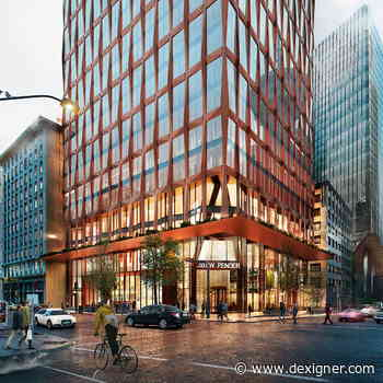 KPF Receives City Approval for 601 West Pender Street in Vancouver - Dexigner