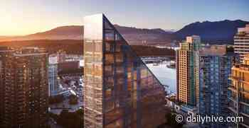 Luxury condo tower under construction in downtown Vancouver hits financial snag   Urbanized - Daily Hive