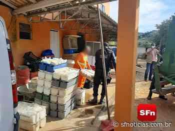 Secretaria estadual de agricultura fecha fábrica ilegal na Região Serrana e apreende 10 mil rótulos falsificados - SF Notícias