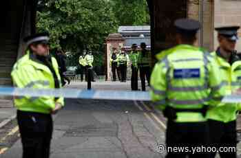 Counter-terrorism police charge man with three murders after knife attack in English town