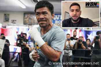 Amir Khan never 'asleep on the floor' from Manny Pacquiao gym knockout - WBN - World Boxing News