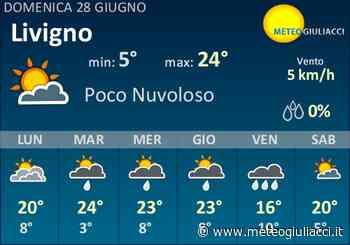 Meteo Livigno: Previsioni fino a Mercoledi 24 Giugno - MeteoGiuliacci