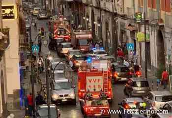 Gragnano, paura per un incendio in una pizzeria - Intervenuti vigili del fuoco, polizia municipale e protezione civile - IlCorrierino.com