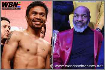 Mike Tyson was speed and power – 'the heavyweight Manny Pacquiao' - WBN - World Boxing News