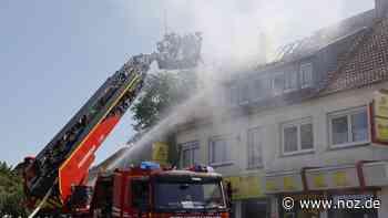 Keine Verletzten nach Dachstuhlbrand an der Bremer Straße in Bohmte - noz.de - Neue Osnabrücker Zeitung