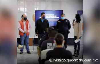 Capacitan a policías municipales de El Arenal - Quadratín Hidalgo